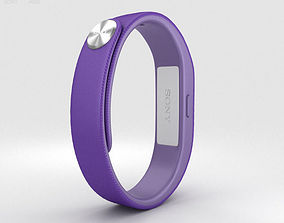 3D model Sony Smart Band SWR10 Purple