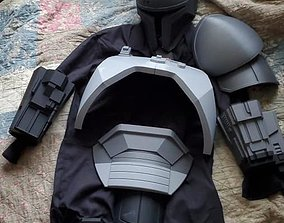 3D printable model FULL Mandalorian heavy infantry armor 4