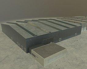3D asset EDDB Hangar 4