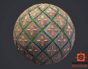 3D model Substance Designer Street Tile