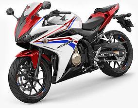 3D model Honda CBR 500R 2016-2018