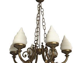 Brass Pendant Lamp 3D