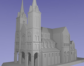 Notre-dame Cathedral Basilica of Saigon 3D printable model