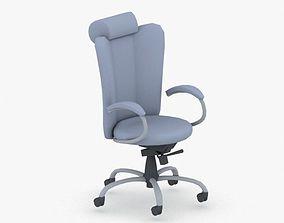 3D asset game-ready 1300 - Office Chair