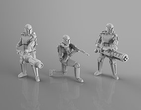 3D print model Old Mandarin Heavy Weapons Team