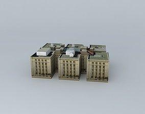 3D ANZAC Square Buildings