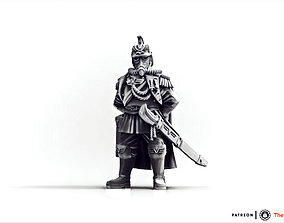 Valour Korps - Marshal Wilhelm 3D print model