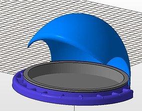 home 3D print model bird feeder