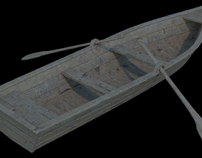 Boat model 3D