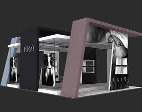 Exhibition Stand business 3D model