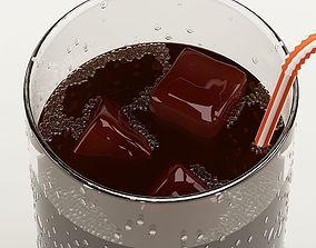 3D Drink 01 Cola food