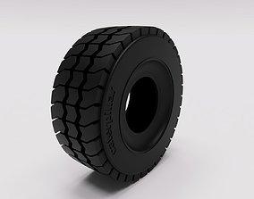 tyre loader dumper construction 3D model