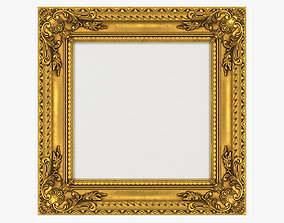 Frame picture gold v5 3D model
