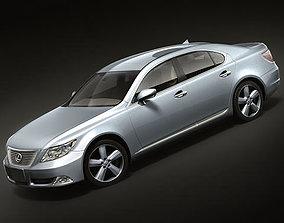 Lexus LS600 2008-2010 3D
