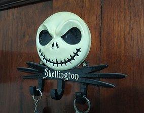 3D print model Jack Skellington KeyHolder