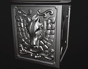 Cloth Armor Box - Pegasus caballeros 3D print model