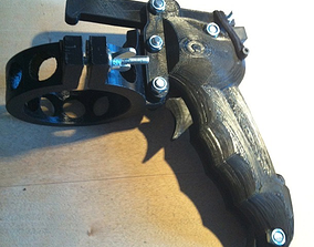 3D printable model Ergonomic SprayGun