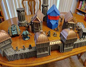 Vase Mode Terrain - Fortress Monastery 3D printable model