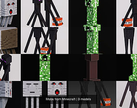 3D Mobs from Minecraft