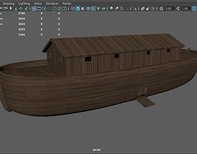 Noahs Ark lowpoly 3D model