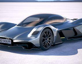 Aston Martin AM RB 001 2018 3D