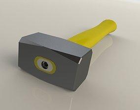 Hand Hammer tools 3D