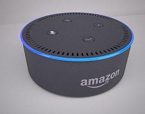 Amazon Echo Dot Black 3D model