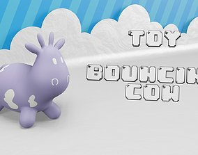3D model Toy - Bouncing Cow - Rocking for Toddlers