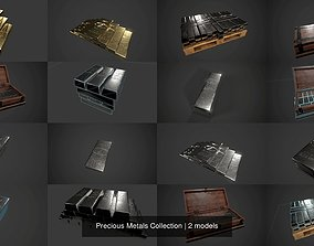 Precious Metals Collection 3D model