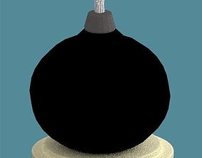 Explosive Black Hand Bomb 3D model