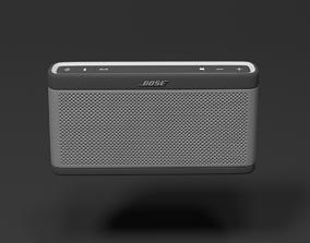 Bose SLIII Speaker- 3D model and Textures VR / AR ready