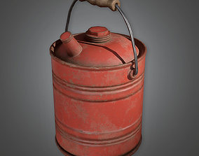 Gas Canister TLS - PBR Game Ready 3D asset