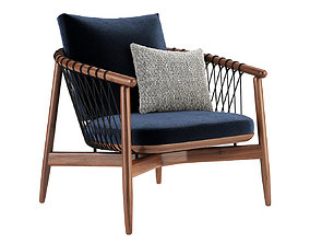 Crosshatch Lounge Chair by Herman Miller 3D