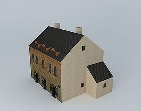 1906 European Urban House 3D model