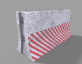 3D asset Concrete Block PBR Model