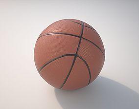 3D model PBR Basketball Ball