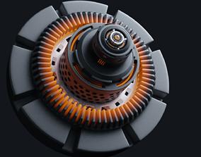 Mechanism 3D asset