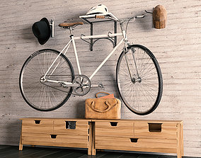 sport bicycle 3D model game-ready