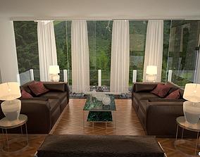 3D asset Amazing Furnished Room v1