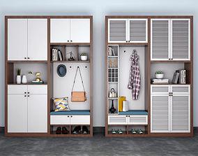 pillow wardrobe cabinet 3D model