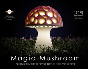 Generative design Magic Mushroom 3D print model