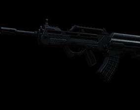 3D Type 25 Assault Rifle