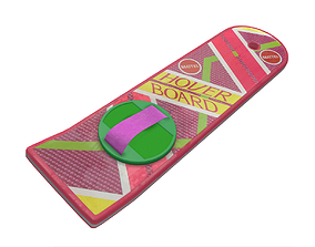 3D PBR Hoverboard