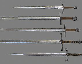 3D asset sword set 1