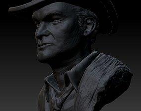 Quentin Tarantino 3D print model