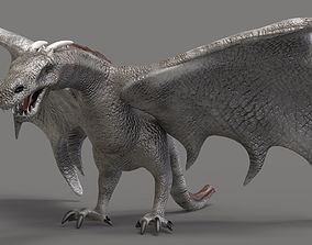 3D model animated The Dragon