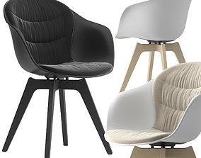 3D model Boconcept-adelaide chair furniture
