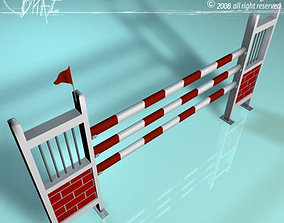 White-red jump 3D