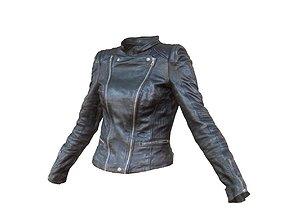 Leather Jacket 6 3D asset