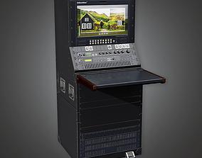 3D model Portable Database Server 01a HLW - PBR Game Ready